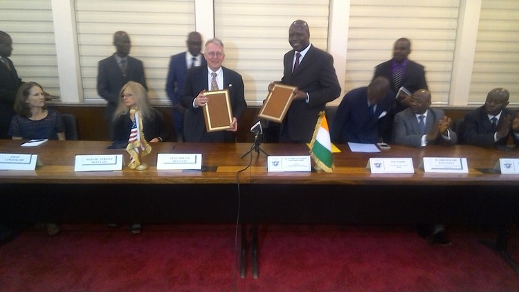 Côte D'ivoire-USA / Transport aérien : Signature de l'accord « Open sky »